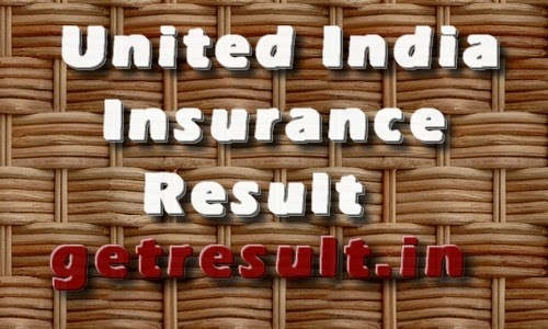 United India Insurance Result 2015
