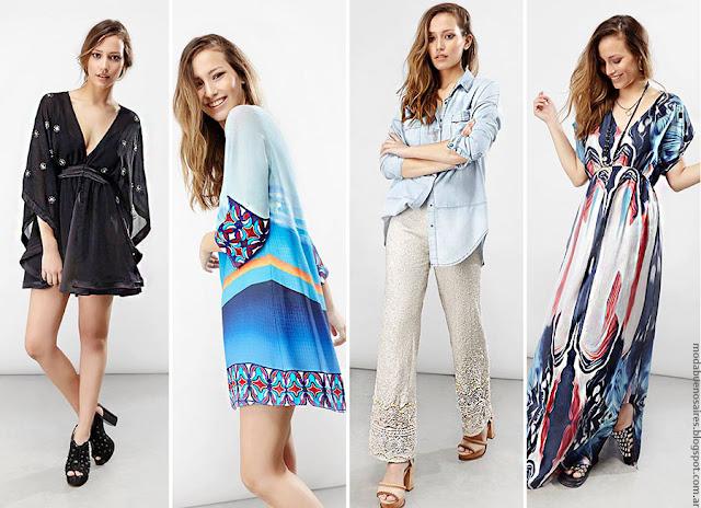 MODA | Moda primavera verano 2017 ropa de mujer Ossira. Vestidos, blusas, túnicas, tops de moda.