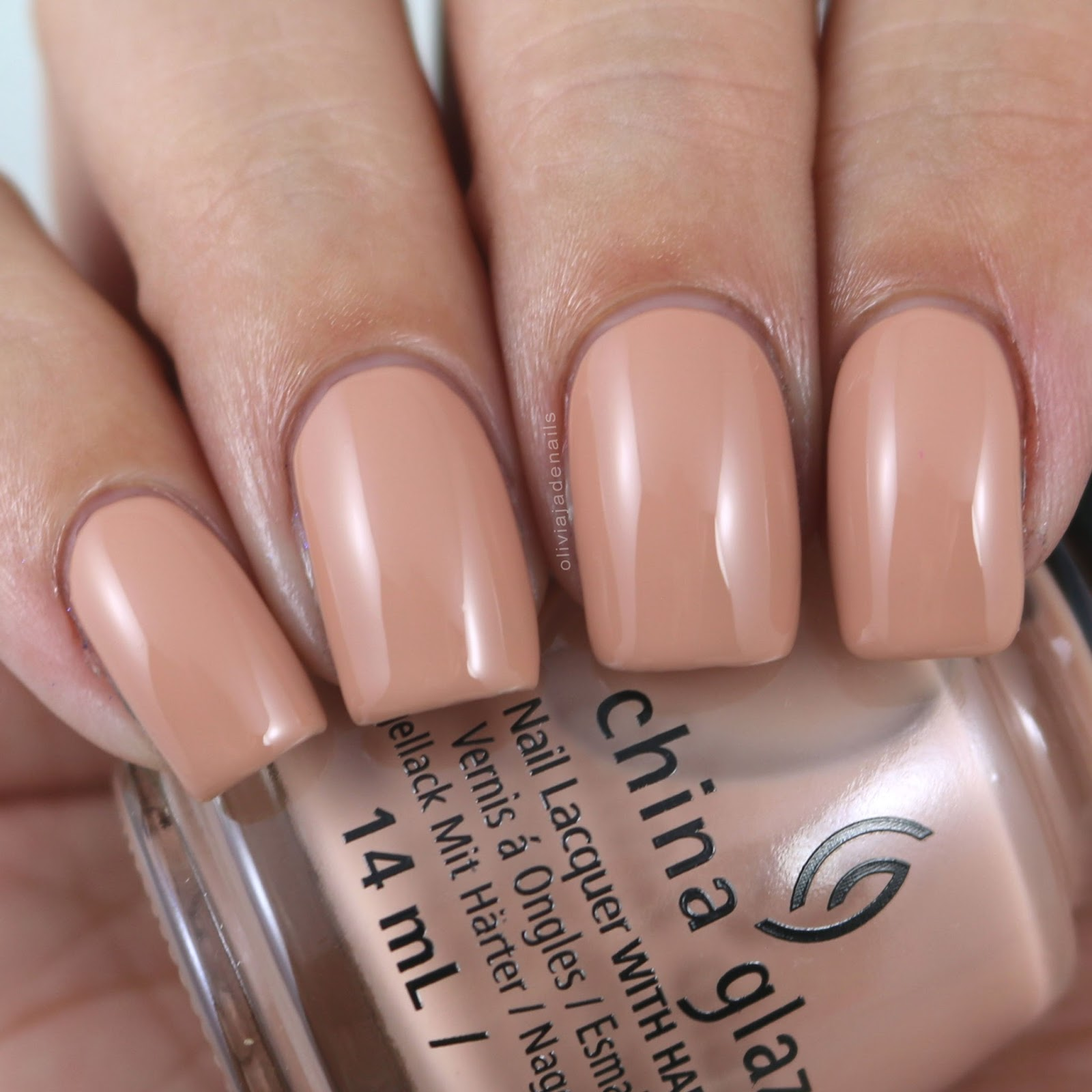 Olivia Jade Nails: China Glaze Shades Of Nude Collection - Swatches ...