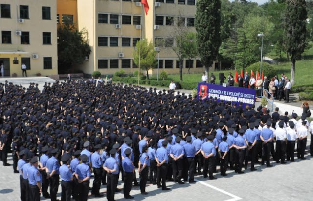 Tirana Police School Graduation ceremony