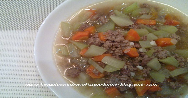 Ginisang Sayote (Sauteed Chayote) Recipe