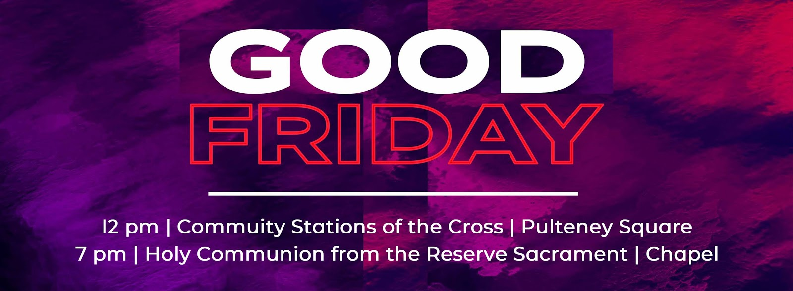 John Clinton Bradley: Holy Week & Easter Ads