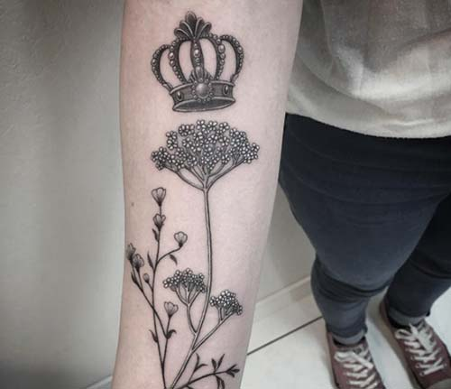 taç dövmeleri tumblr crown tattoo