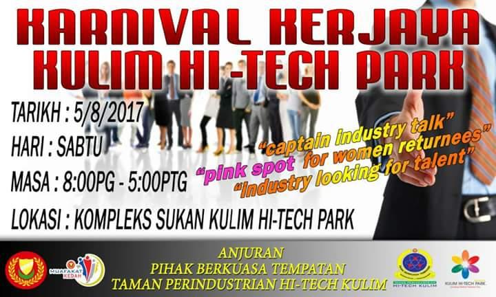 Karnival Kerjaya Kulim Hi-tech 2017
