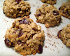 Tahini Oatmeal Chocolate Chunk Cookies