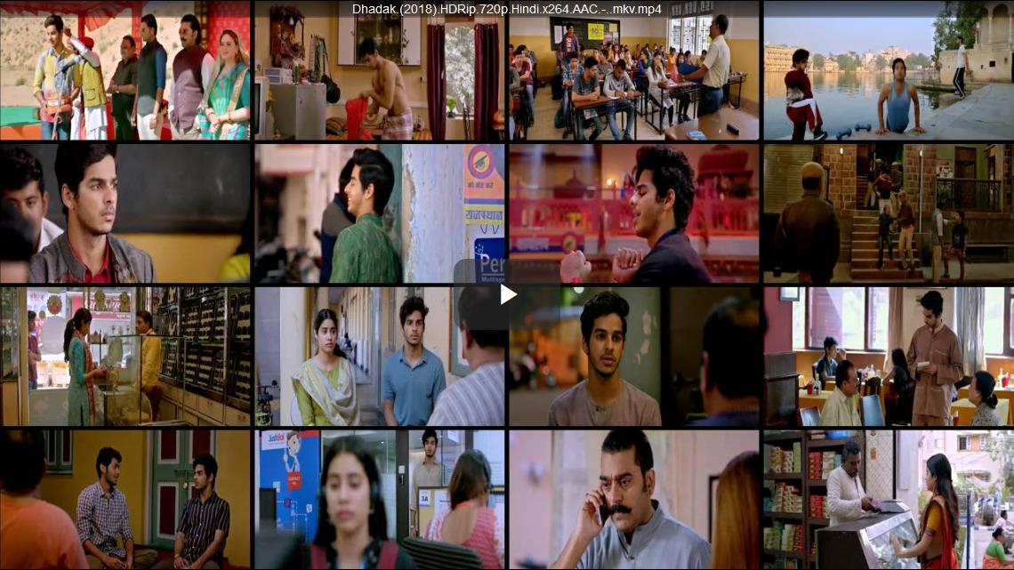 Dhadak 2018 Full Movie Hindi 1080p - 720p - HEVC - 480p ORG WEB-DL 400MB - 650MB - 1.1GB - 2GB ESubs Free Download