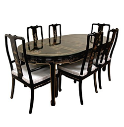 Chinoiserie Style Dining Set