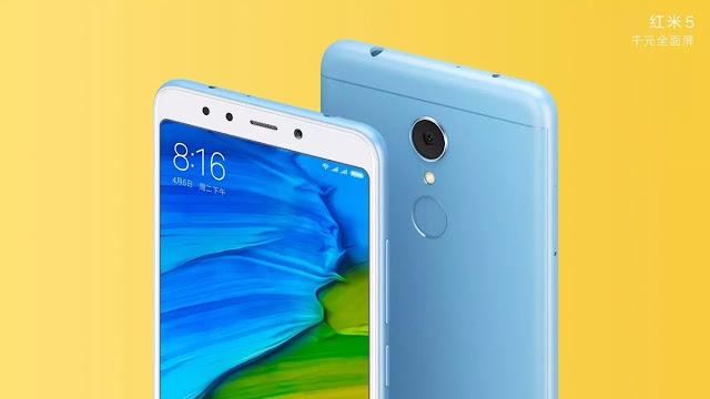 جميع مواصفات هاتف Xiaomi Redmi 5 و Xiaomi Redmi 5 Plus