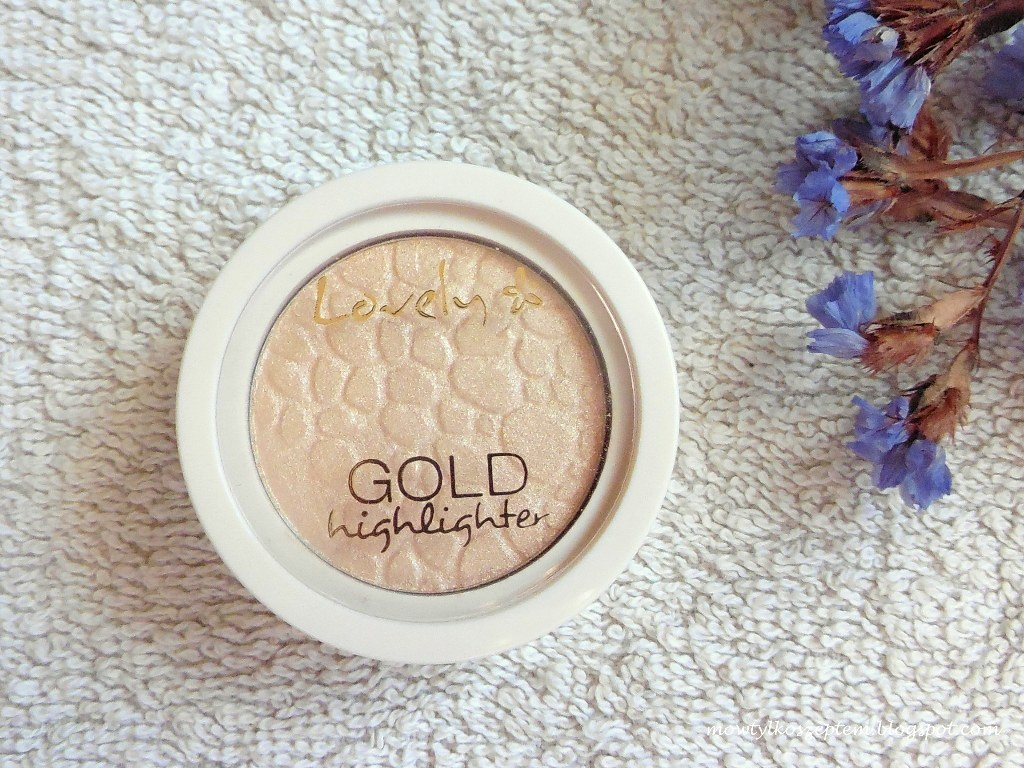 lovely-gold-highlighter, lovely-rozswietlacz, tani-rozswietlacz