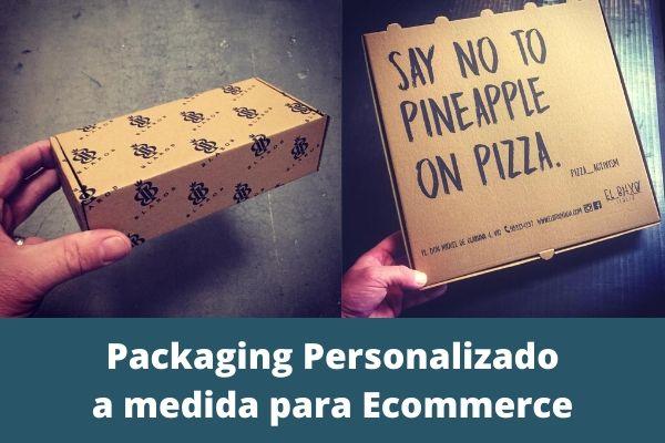 Packaging Personalizado a medida para Ecommerce