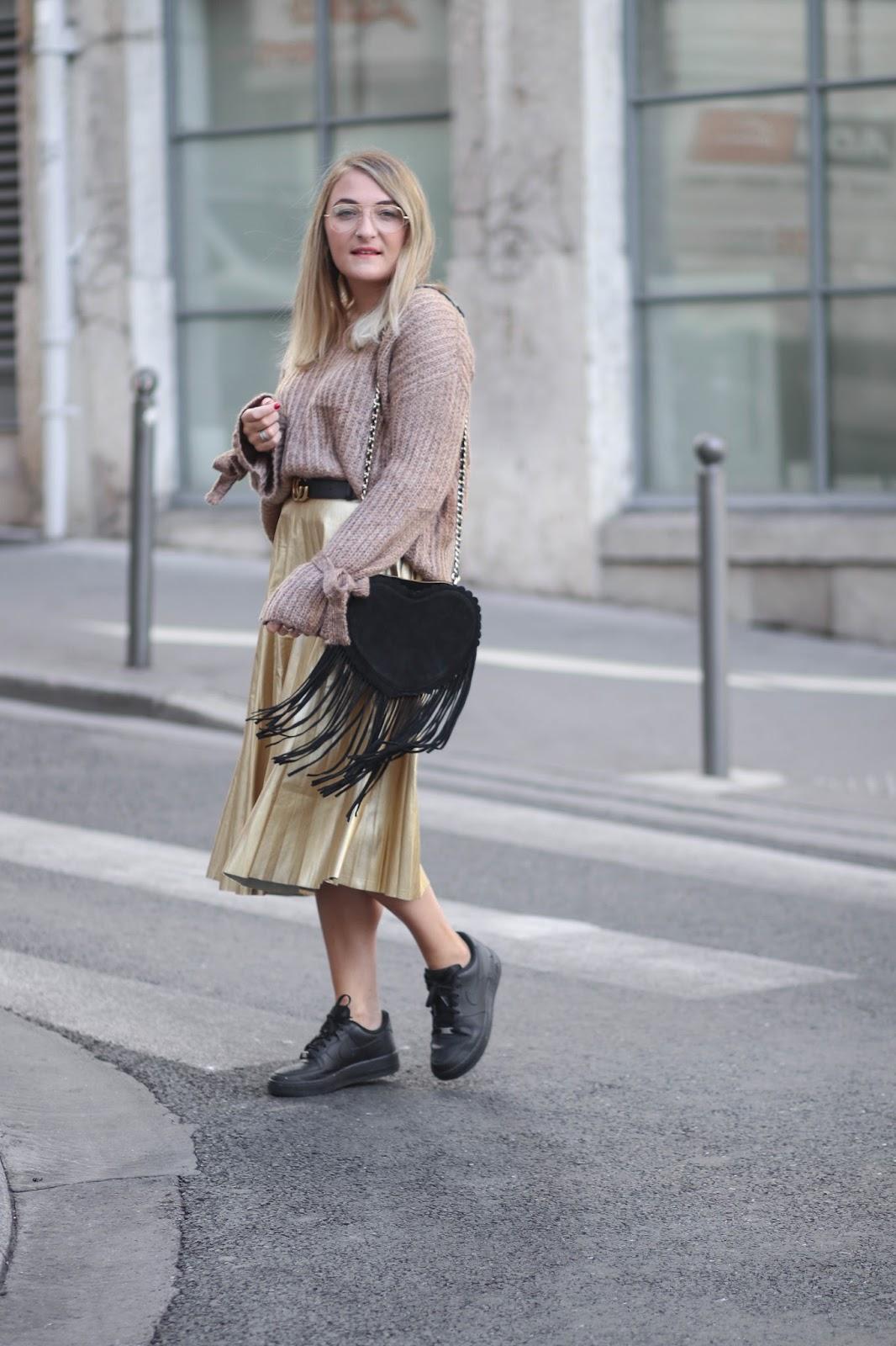 jupe longue dorée parisgrenoble
