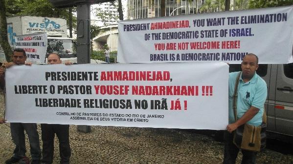 Evangélicos brasileños exigen al presidente iraní la liberación de Nadarkhani
