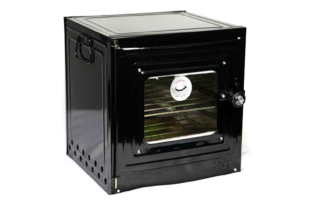 Oven Butterfly with heat tempered glass