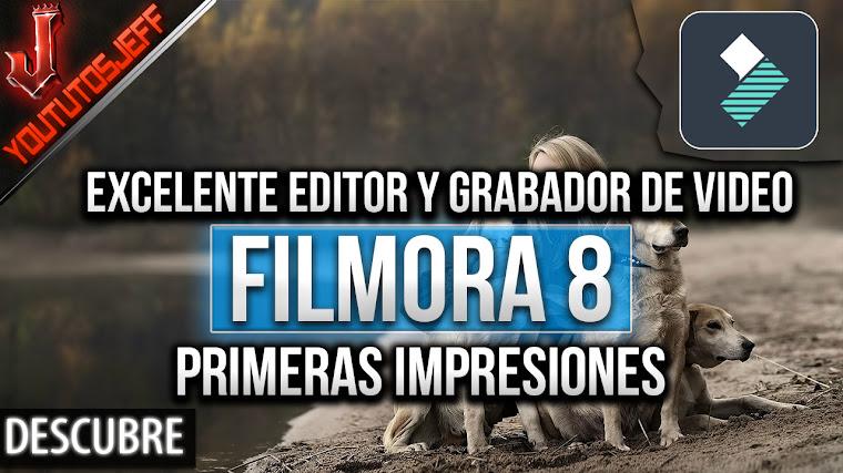 Filmora 8 Primeras impresiones, velocidad, caracteristicas, renderizacion