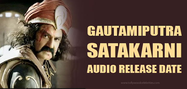 NBK's Gautamiputra Satakarni Audio Launch Date Confirmed
