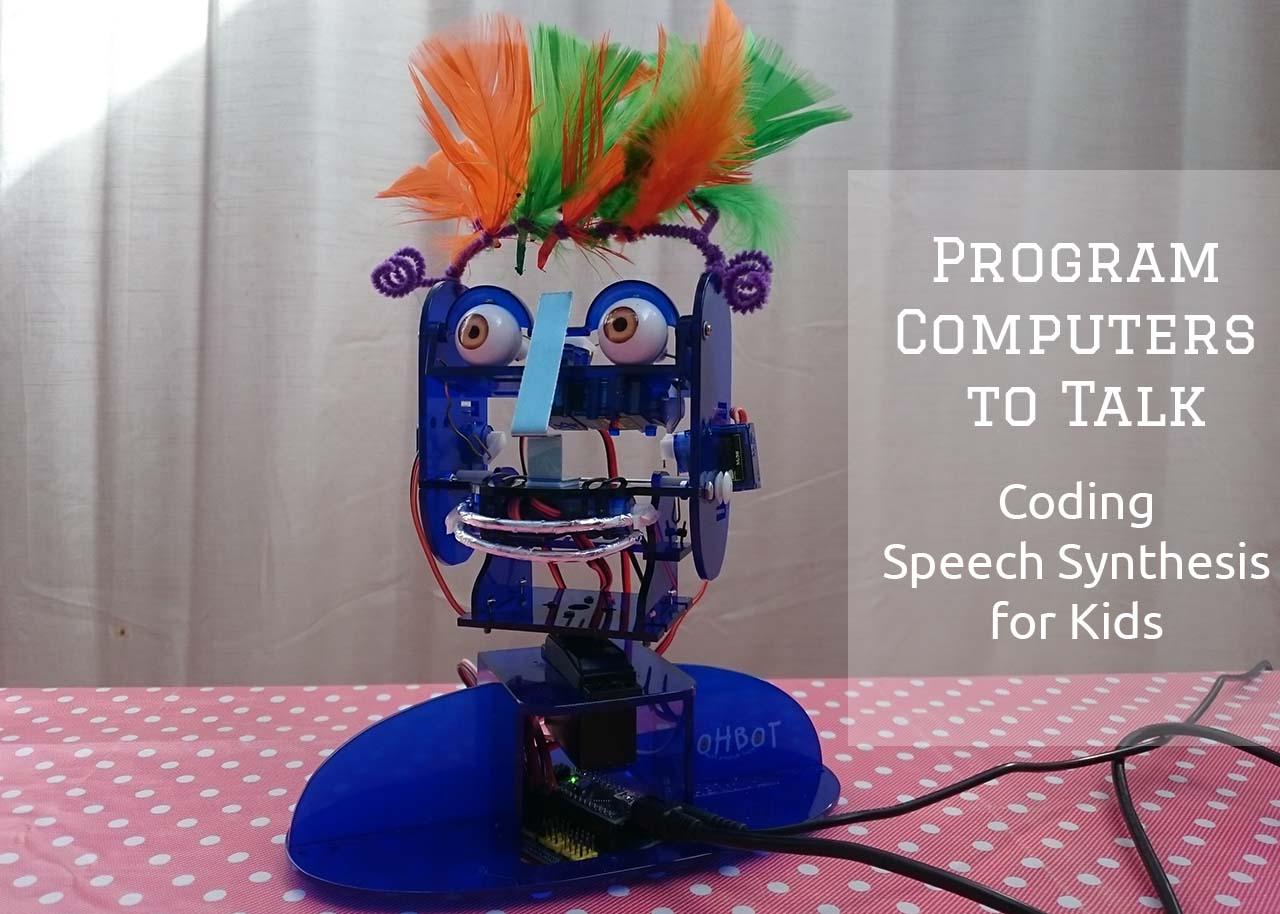 Talking robot app for ipad
