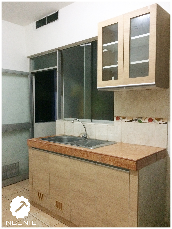 Mueble cocina en melamina carvalo for Precio de melamina