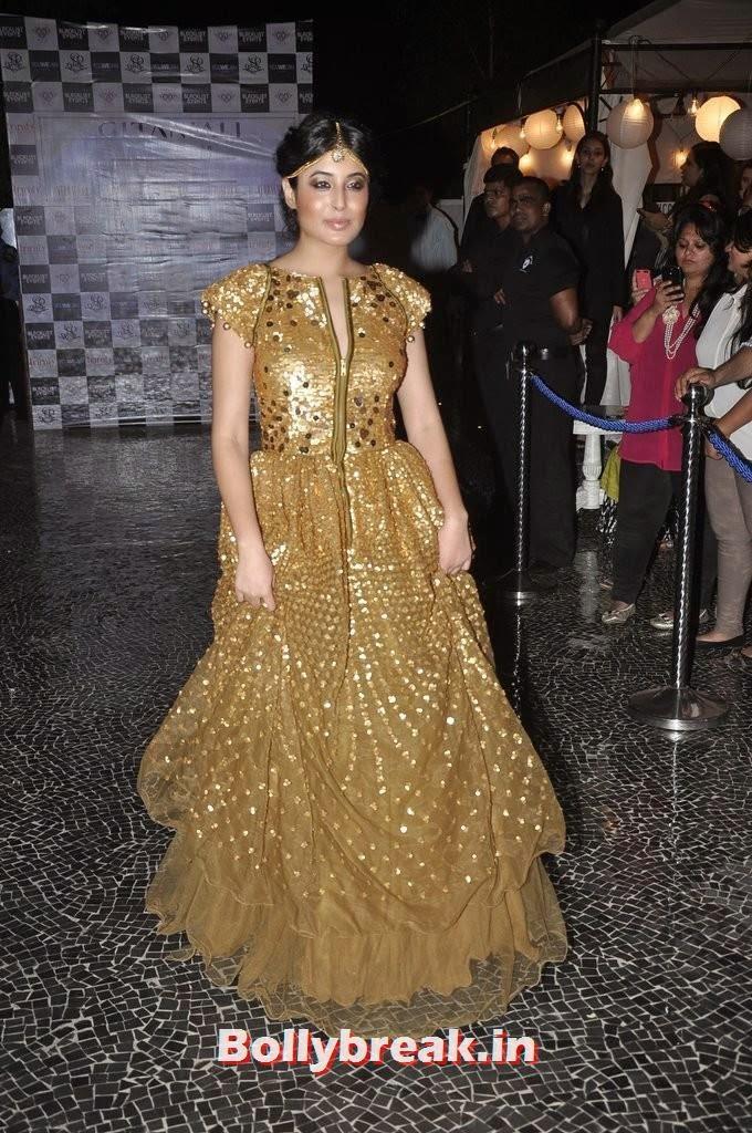 Kritika Kamra, Gauahar Khan, Kushal Tandon, Sonal Chauhan & Karishma Tanna Snapped at Nitya Bajaj Fashion Show