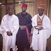 Check out Ubi Franklin, Gbenro Ajibade and AY's look to Zahra and Ahmed's wedding