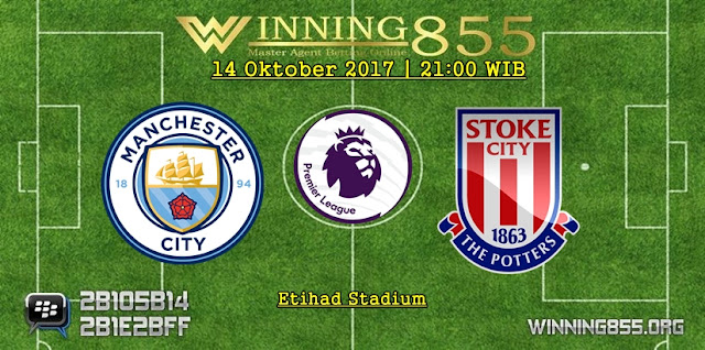 Prediksi Skor Manchester City vs Stoke City 14 Oktober 2017