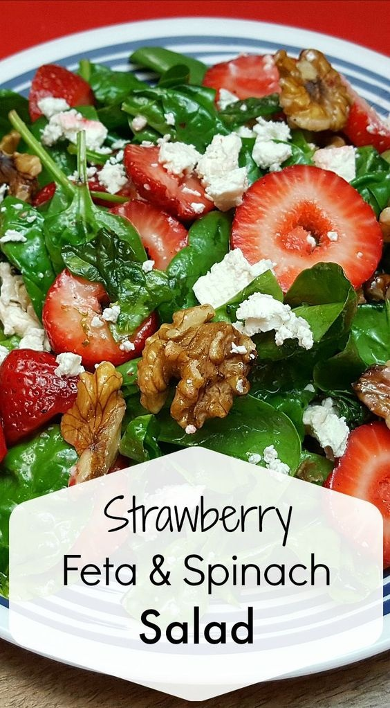 Strawberry Feta Salad Recipe