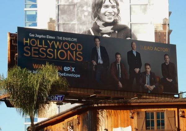 LA Times Hollywood Sessions Lead Actor billboard