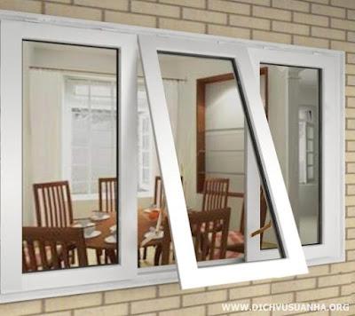 Cắt tường lắp cửa sổ nhôm kính