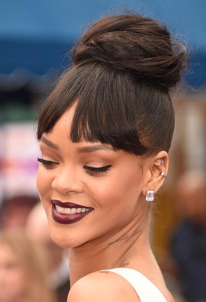 Moda Cabellos Peinados Recogidos Con Flequillo 2015 - Peinados-flequillo-recogido