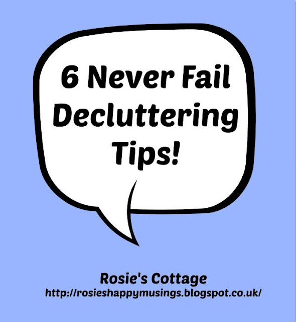 Six Never Fail Declutter Tips