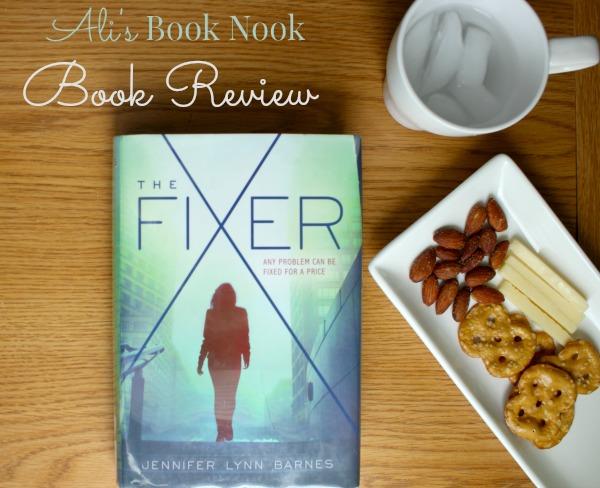 book review Fixer jennifer lynn barnes ya political thriller
