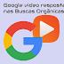 Google em fase de teste sugere video como resposta nas buscas organicas