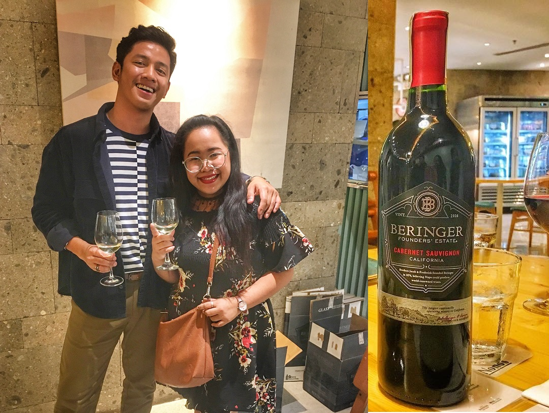 David Guison's Free Dinner with Peatix Events App and Beringer Vineyards