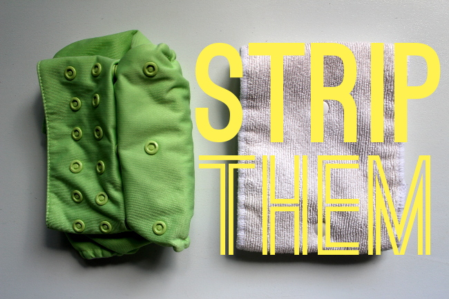 Strip Cloth Diapers