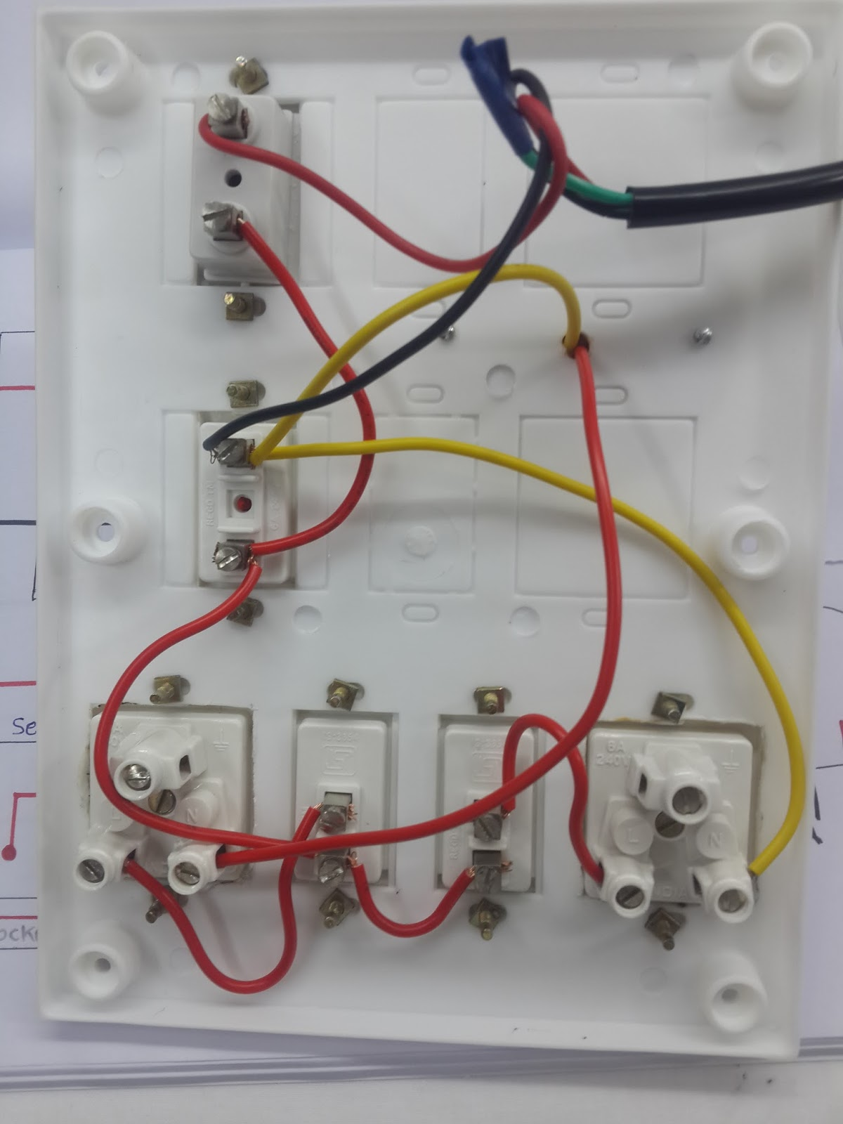 How To Make Series Parallel Electrical Testing Board In Hindi Deepakkumar Yadav