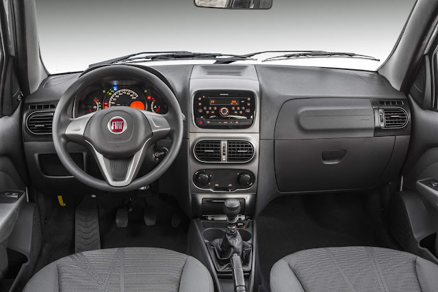 Fiat Weekend 2017 Attractive 1.4 Flex - interior