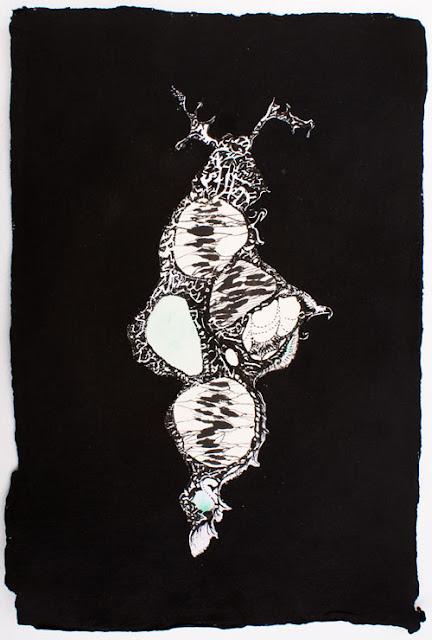 """Nelleke de Noo : Stone Creature 3, exposition """"d'Inspiration Jérôme Bosch"""", Galerie de la Marraine"""