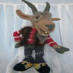 patron gratis cabra amigurumi | free pattern amigurumi goat