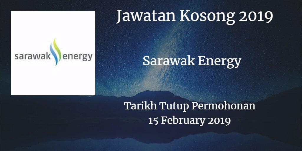 Jawatan Kosong Sarawak Energy 15 February 2019