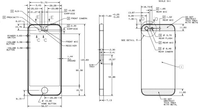 Screw Diagram Iphone 6 Plus