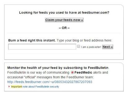 newsletter στο blogger