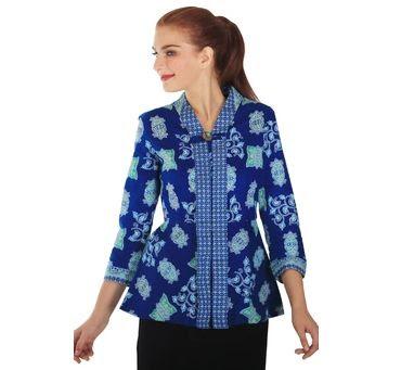 Seragam Batik Guru Wanita Modern