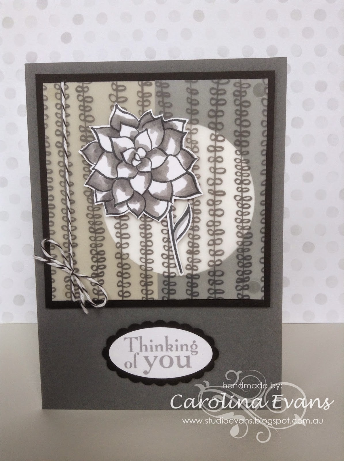 Nature's Perfection and Sheer Perfection Vellum card made with Stampin' Up! products