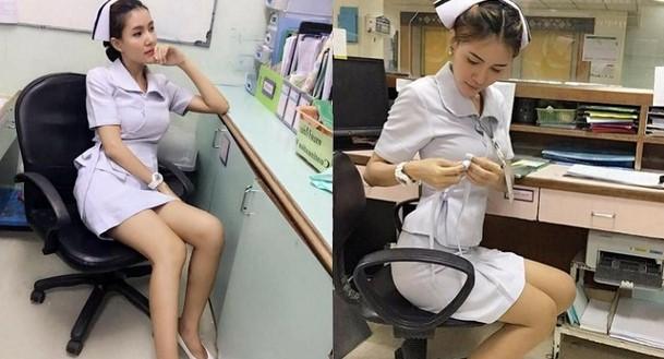 Berseragam Terlalu Seksi, Perawat Ini Dipaksa Untuk Keluar Kerja