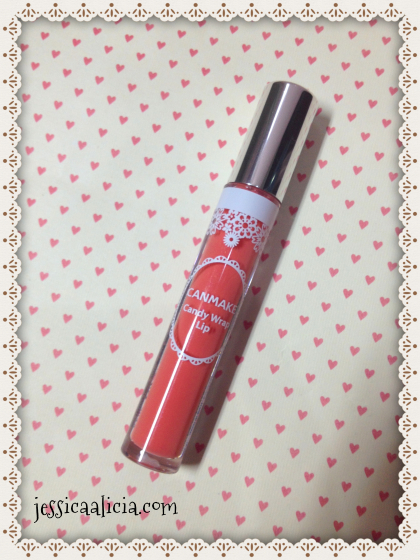 Review & Swatch : Canmake Candy Wrap Lip #02 Navel Drop by Jessica Alicia