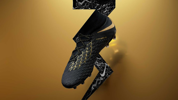 8c5ee5ca2 Special Edition Black   Gold Nike Hypervenom Phantom 3  Game of Gold ...