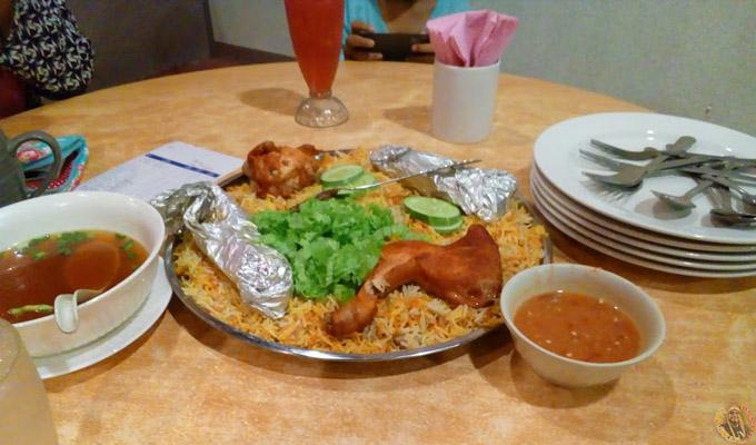 Makan di restoran Nasi Arab harga patut di Nibong Tebal/Parit Buntar