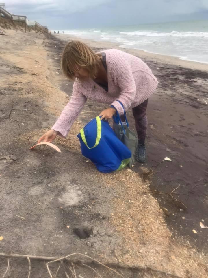 Green Bag Lady Beach Cleanup Bags