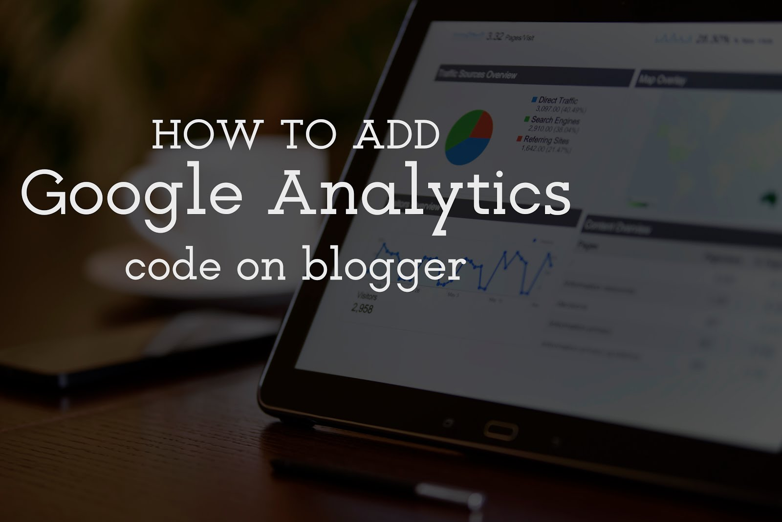 How to add Google Analytics on Blogspot
