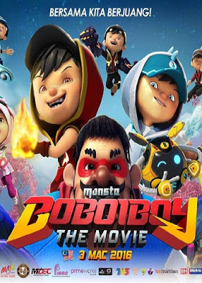 Film Boboiboy The Movie (2016) 720p DVDRip Subtitle Indonesia