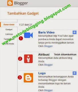 Baris Video, Atribusi, dan Logo